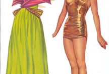 Esther Williams paper doll