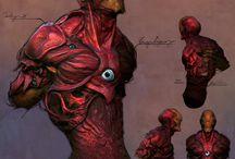 Concept Art / Marvel/ DC