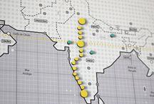 Rutas viajeras // Mapnético / Rutas viajeras para los amantes del viaje