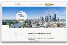 Goethe Hotel Frankfurt / Arbeiten für das Goethe Hotel Frankfurt bestehend aus dem Goethe Classic, dem Goethe Business und dem Goethe Coference