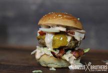 Burger / Unsere leckeren Burger vom Grill!