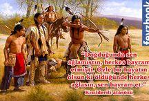 Kızılderi atasözü