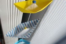 Paper boats craft for Nathan