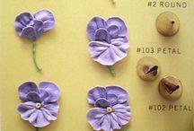 как делать цветы