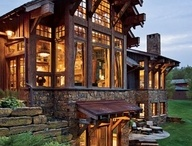 Beautiful Homes / Lovely Decorated Homes, Interior Designs  & Dream Houses!