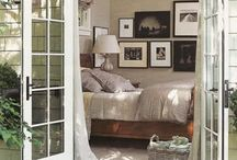 Bedroom, french doors and balcony