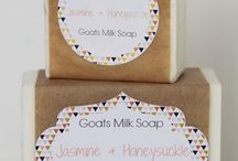 Lizzy & Me Designs - Goats Milk Soap / Luxurious lathering goats milk soap handmade for healthy glowing skin