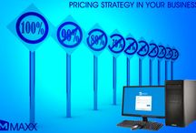 Pricing Strategy in your business / - The Primary goal of business is to make a profit. Pricing is the critical element in achieving profits and is a factor that all the firms can control - Examine your competitors in your market about their pricing strategy and regularly keep track on their pricing....http://maxxerp.blogspot.in/2014/01/pricing-strategy-in-your-business.html