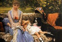 James Joseph Tissot  ( French)  favourite Artist.