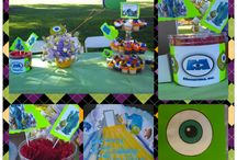 AJ's 3rd Birthday Party / Monsters Inc and University