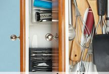 Get Organized! / I share space with roommates. We have to get creative to make things work.
