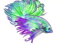 Watercolour pencils tutorial