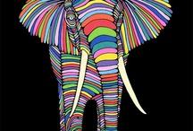 Elephant ✿ /  Large mammal pachyderm...