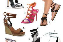 Sandales à lacets