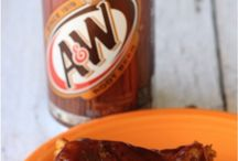 Root beer wings