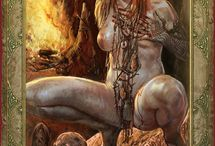 Witcher Girls Uncensored 18+ / Arts from pc game Witcher