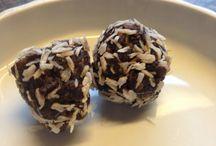 Sunde snacks / Med dadler og kokosolie