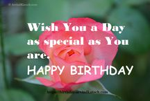 True Picture Based Happy Birthday Cards (HD) / True Picture based HD #HappyBirthday #Cards. Great way to wish loved ones on their #birthday.  / by Arvind Katoch