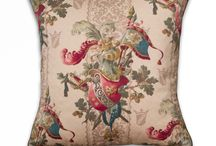 shop New Vintage Pillows / Pillows made from Mary Jane McCarty's line of New Vintage Fabrics