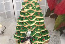 Galletas Navidad / Arbol navideño de galletas