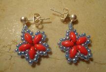 Bambini / Accessori bambina, orecchini, braccialetti, collanine, anellini completamente realizzati a mano, originalissimi!!!
