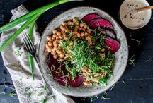 V E G A N / Healthy drool-worthy vegan blogger recipes.