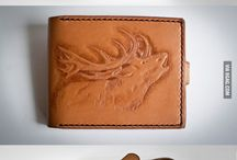 Leather inspirations / Awesome leather projects to try out one day.