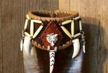 Halsbänder / Verschiedener Halsschuck aus Leder
