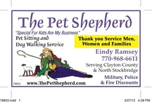 Atlanta Pet Sitters / by Deceased Pet Care Funeral Homes