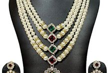 Bollywood Inspired Bridal Necklace Jewelry Set