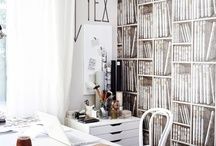 rustic Nordic inspired office