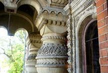 деревянные дома / славянский стиль