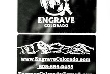 Laser Engraved Anodized Aluminum / EngraveColorado.com presents its Anodized Aluminum laser engraving projects!