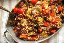 Recipes: Grainy Salads / Whole grain salad recipe ideas