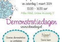 Demodagen 13 (Atlas Hotel 1) / Demonstraties in het Atlas Hotel en in de winkel van Doeading op vrijdag 28 februari 2014 van 10.00 uur tot 16.00 uur.