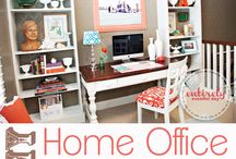 Office/craft room ideas  / Design ideas for future craft/office room