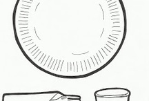 Comida - moldes, manualidades