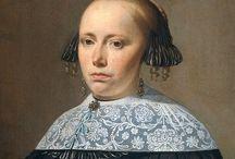 Прически 1610-1700