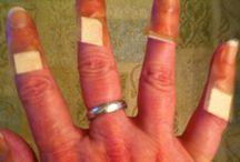 Manos, uñas