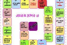 TEACHING SPANISH JUEGOS