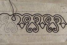 3,5 Muster sticken