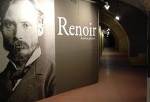 """Renoir. La vie en peinture"" / Exhibition, 15 settembre - 16 dicembre 2012, Scuderie del Castello Visconteo, Pavia"