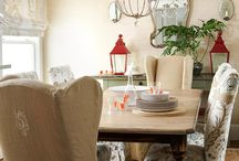 I ... Interiors - Dining / by Claudia Black