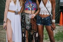 boho. bohemian. festival outfits. summer style & fashion.