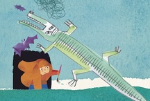 I disegni arrabbiati (Italo Calvino e Giulia Orecchia) / Le illustrazioni dei libri di Italo Calvino (collana Contemporanea) in mostra a LibriTutti, il festival del libro illustrato per bambini a Castiglione della Pescaia. Le tavole sono di Giulia Orecchia.