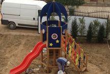 Ahşap Oyun Parkları / Anaokulu, Kreş, Yuva ve İşletmeler için en uygun Ahşap Oyun Parkları Ay Dağıtımda