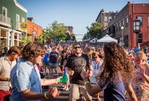 """Summer in Athens / Summer in Athens is """"the best kept secret"""" for a reason! Copperheads games, Ohio Brew Week, 30 Mile Meal Month, Boogie on the Bricks... Summer is sweet in Athens, Ohio!"""