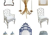 Chinoiserie / Blue