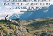 Travel Quotes / A collection of our favorite travel quotes