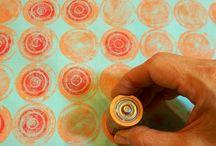 razítka, tisk na textil